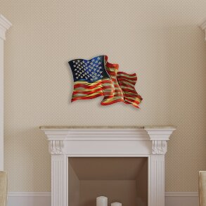 American Flag Wall Décor