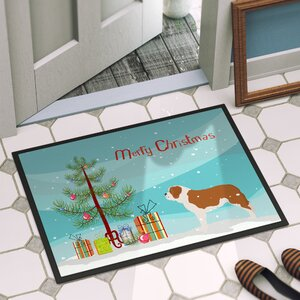 Saint Bernard Door Mat
