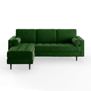 Modern Contemporary Sofa With Reversible Chaise Allmodern