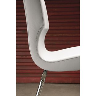 Jolie Genuine Leather Upholstered Dining Chair