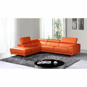 Cana Leather Reclining Section..