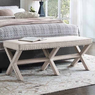 Wynwood X Base Upholstered Bench
