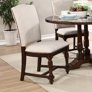 Dakota Side Chair (Set of 2) by BestMasterFurniture
