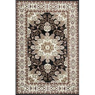 Affordable Staveley Oriental Hand-Tufted Brown/White Area Rug By Charlton Home