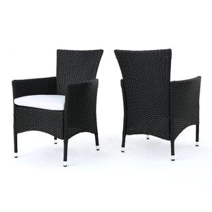 Strange Outdoor Black Bistro Chairs Wayfair Download Free Architecture Designs Grimeyleaguecom
