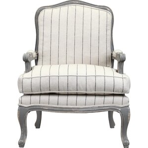 Spencer Armchair in Distressed Gray by One Allium Way