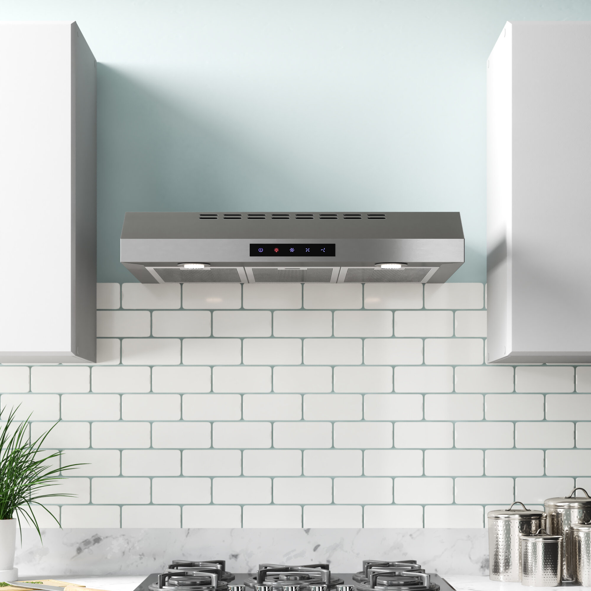 Kbc 30 400 Cfm Convertible Under Cabinet Range Hood Reviews Wayfair