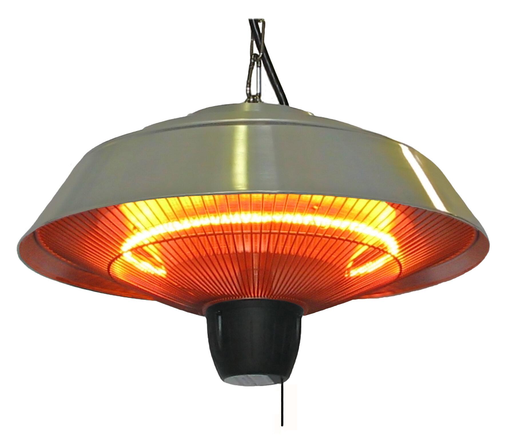 Beau EnerG+ 1500 Watt Electric Hanging Patio Heater U0026 Reviews | Wayfair
