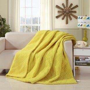 Yellow Gold Blankets Throws You Ll Love Wayfair