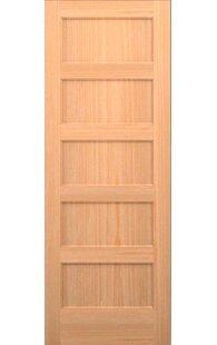 5 panel wood interior doors. Wood 5 Panel Slab Interior Door Doors T