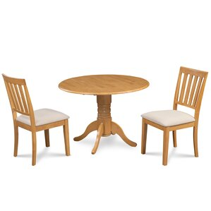 Chesterton 3 Piece Dining Set by Alcott Hill