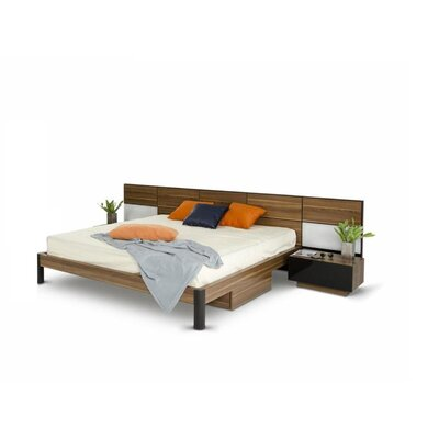 Brayden Studio Cooke Platform 3 Piece Bedroom Set Size: Queen