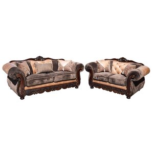 Savanah Sofa and Loveseat Set by Garde..