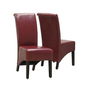 Upholstered Dining Chair by Monarch Specialties Inc.