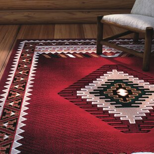 Iberide High Quality Woven Red Area Rug