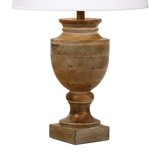 Rustic table lamps wayfair rudyard 46cm table lamp base aloadofball