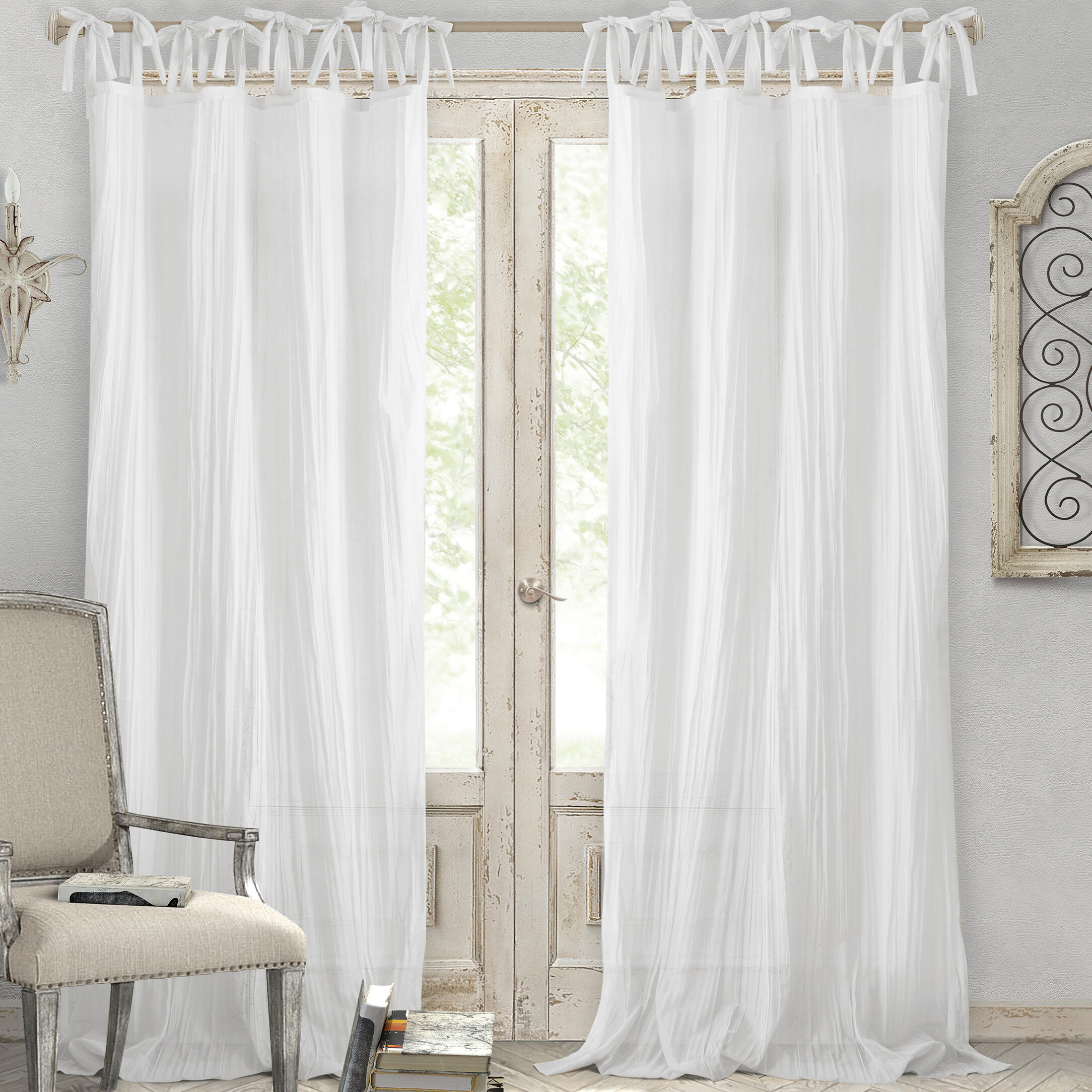 Magnificent Cottage Country Curtains Drapes Birch Lane Download Free Architecture Designs Jebrpmadebymaigaardcom