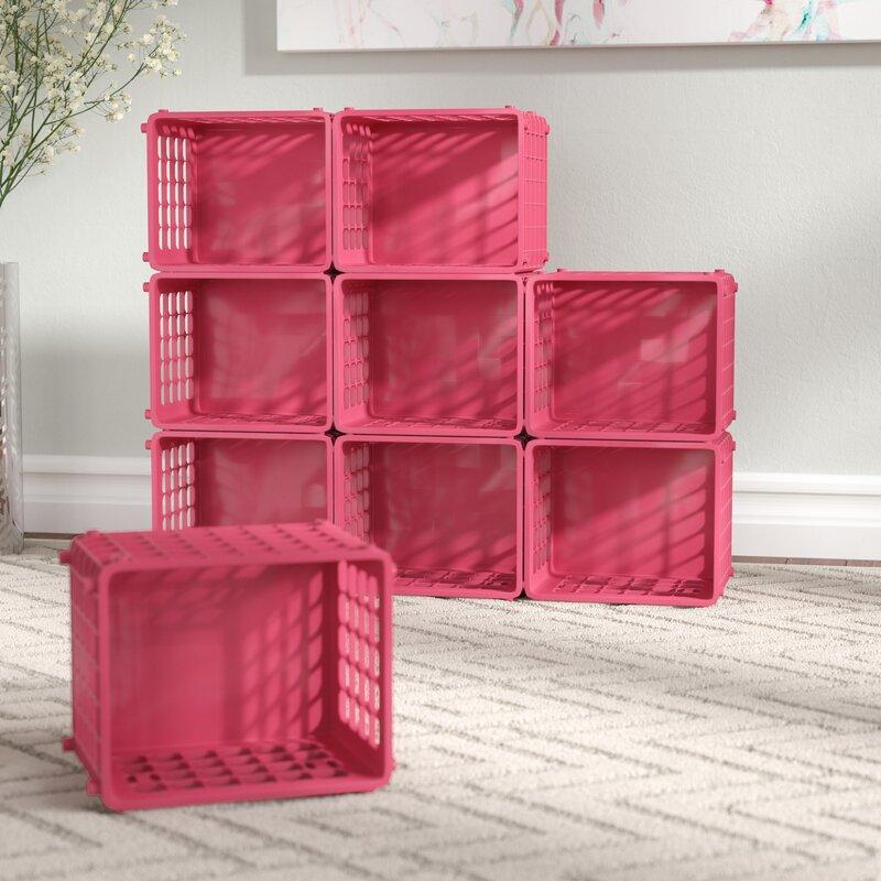 Rebrilliant Modular Storage Plastic Cube & Reviews   Wayfair