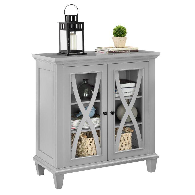 rosendale 2 door accent cabinet