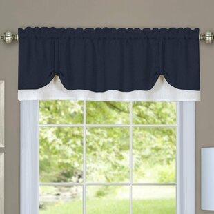 Vannessa Traditional Elegance Double Layered Pick Up 58 Window Valance