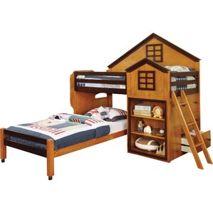 Stewart House Twin Loft Bunk Bed by Hokku Designs