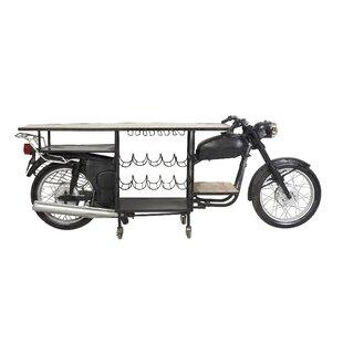 Elsha Eclectic Motorbike Bar Cart