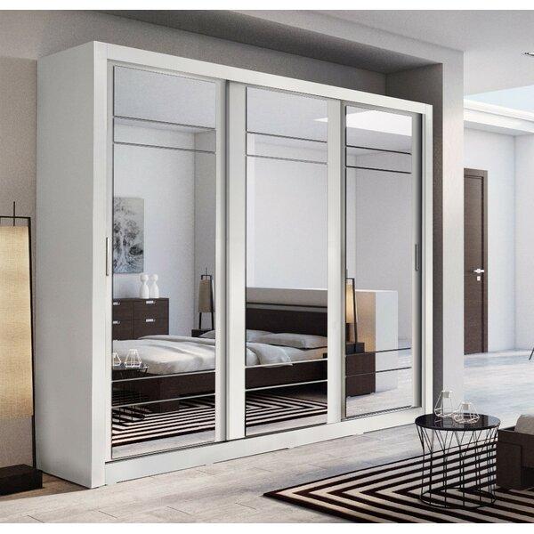 High Gloss Bedroom Cupboards Lemon Bedroom Accessories Toddler Bedroom Curtains Black And White Bedroom Cupboard Designs: Brayden Studio Schwebetürenschrank Toups & Bewertungen