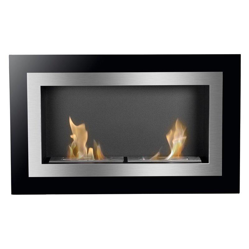 Fantastic Villa Recessed Wall Mounted Ethanol Fireplace Download Free Architecture Designs Scobabritishbridgeorg