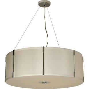 drum lighting pendant burt 1light drum pendant oversized greater than 30