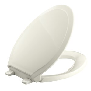 gold toilet seat cover. Rutledge Quiet Close with Grip Tightelongated Toilet Seat Seats You ll Love  Wayfair