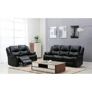 Madison 2 Piece Living Room Set by Noble House