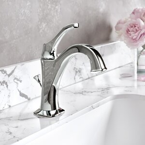 Giancarlo Single Hole Bathroom Faucet with Drain Assembly