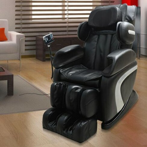 Luxury Reclining Leather Massage Chair Automatic Zero Gravity Relax & Homcom Luxury Reclining Leather Massage Chair Automatic Zero ... islam-shia.org