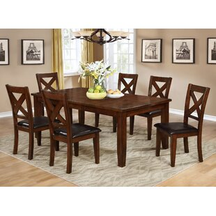 Jovany 7 Piece Extendable Dining Table Set