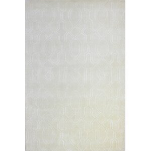Lessines Hand-Tufted Snow Area Rug