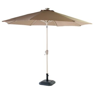 Romilly 3m Traditional Parasol by Lynton Garden