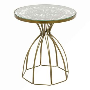 Cevenola Wire Work End Table