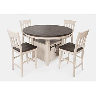 Westhoff 5 Piece Counter Height Dining Set