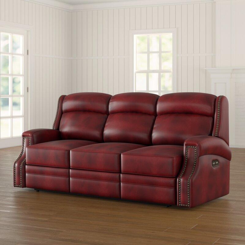 Carlisle Leather Sofa