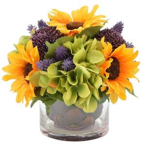 Floral Arrangement Pictures artificial flower arrangements you'll love | wayfair