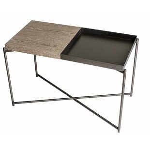 iris metal frame side table by gillmorespace - Metal Frame Coffee Table