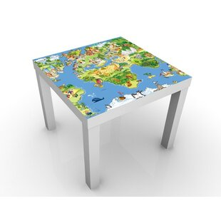 Malmesbury Great and Funny Worldmap Children's Table by Metro Lane