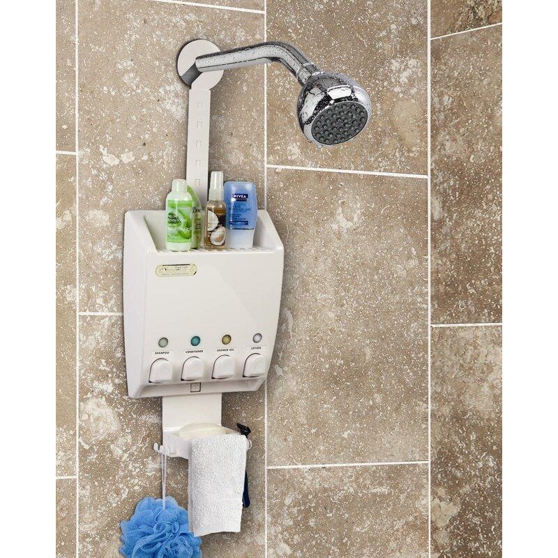 Ulti Mate Soap Dispenser Shower Caddy