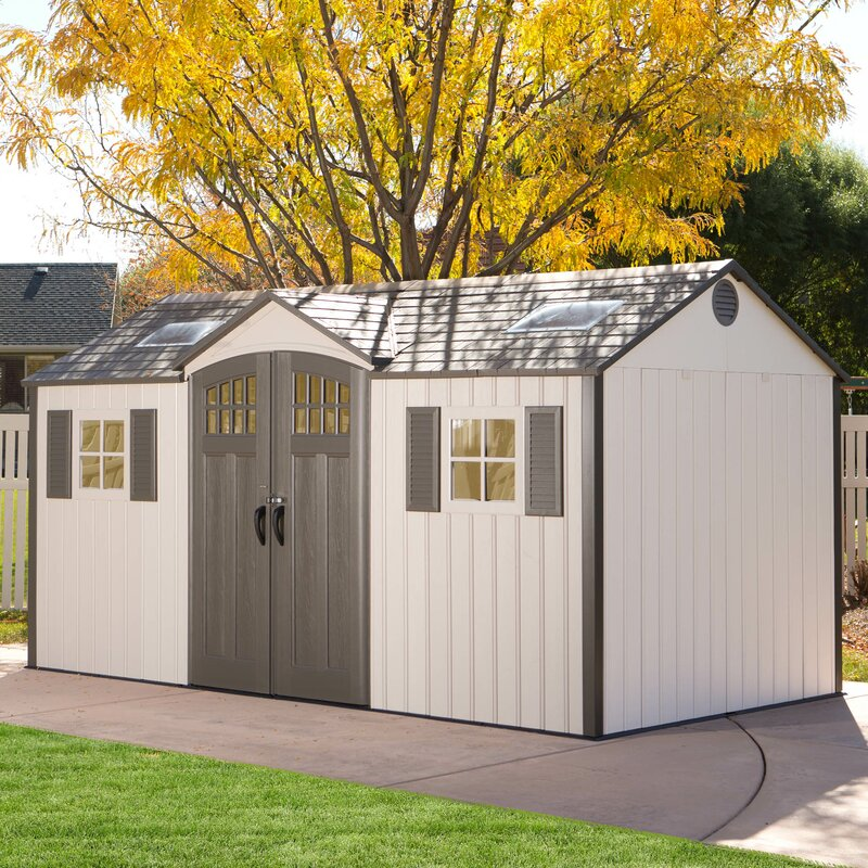 d metal storage shed