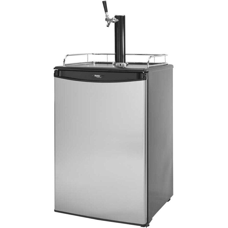 6 cu. ft. Single Tap Kegerator