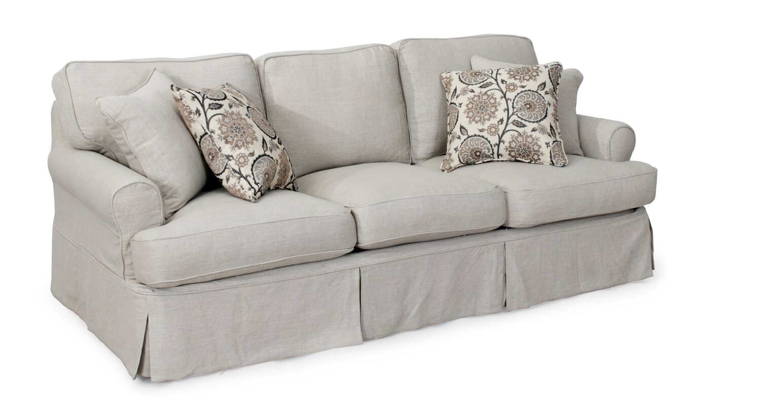 Callie T-Cushion Sofa Slipcover Set  sc 1 st  Wayfair : sectional sofa slipcovers - Sectionals, Sofas & Couches