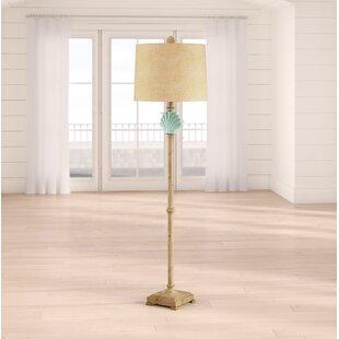 Shreveport Clamshell 65 Traditional Floor Lamp