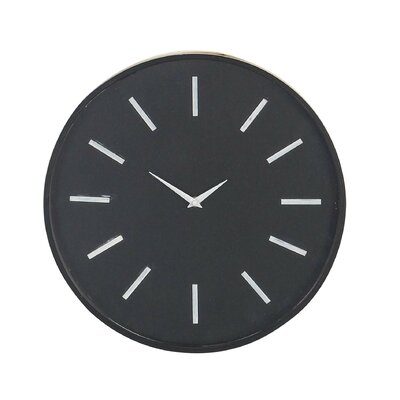 Turn on the Brights Fairview Modern Analog 15 Wall Clock
