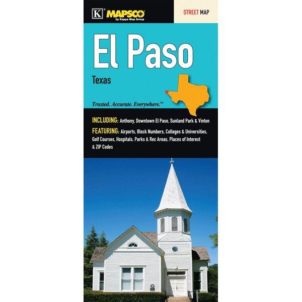 Universal Map El Paso Fold Map | Wayfair