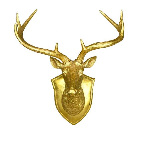 Faux Deer Head | Wayfair